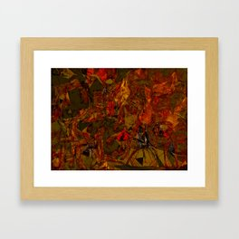 Scale of Demise Framed Art Print