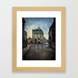 The Town Hall At Abingdon Framed Art Print