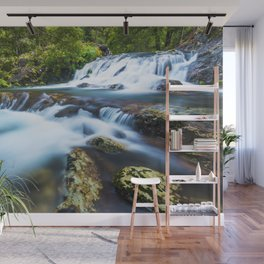 High motion waterfall Wall Mural