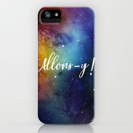 Allons-y! iPhone Case