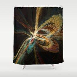Spiraz Shower Curtain