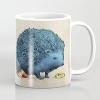 sonic Mugs featuring Sonic by Eric Fan