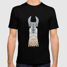 BABY LAMA (CRIA) Mens Fitted Tee X-LARGE Black
