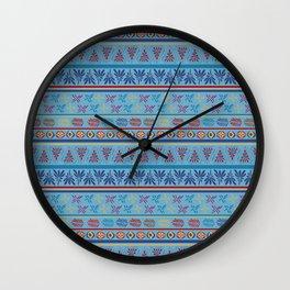 Bohemian Girl Wall Clock