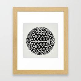 Sphere 2 Framed Art Print