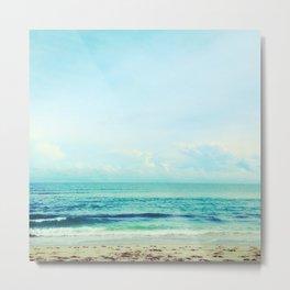 sea sheila beach Metal Print