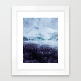 direction north Framed Art Print