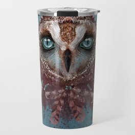 Owl Dream Catcher Travel Mug