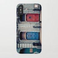 doors iPhone & iPod Cases featuring The Doors by unaciertamirada