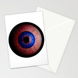 Pink  Eyeball Jewel Stationery Cards