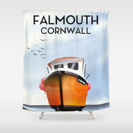 Falmouth Cornwall Shower Curtain