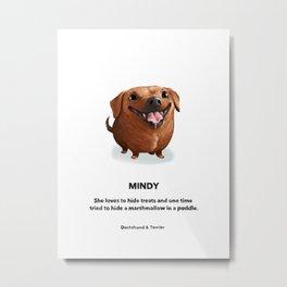 Mindy Metal Print