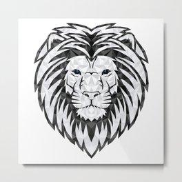 The Lions Head Metal Print
