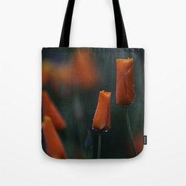 California Poppies at Dusk Tote Bag