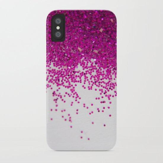 Fun I (NOT REAL GLITTER) iPhone Case