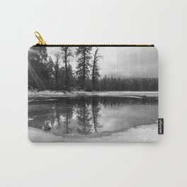 Sun Rays on a Melting Lake Carry-All Pouch