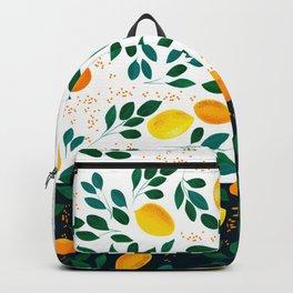 Lemon Orange Backpack