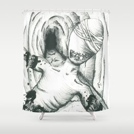 Dismemberment Shower Curtain