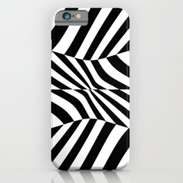 Black and white vision by lh iPhone Case