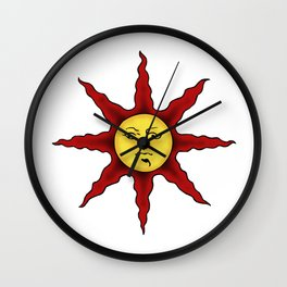 Praise the sun Wall Clock