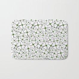 Line art - Clover Bath Mat