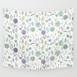 Wild Bloom Wall Tapestry