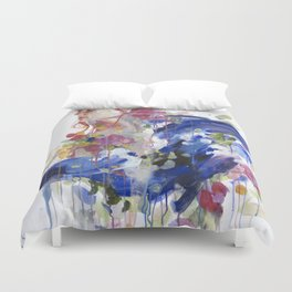 Bouquet of Emotions Duvet Cover