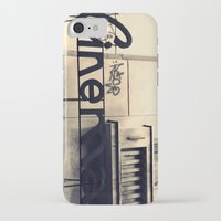 cinema iPhone & iPod Cases featuring Cinema by Ioana Stef
