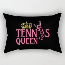Tennis Queen Tennis player Tennis Girl Rectangular Pillow