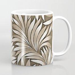 Smoky Leaves In Dusky Pink Grey Spectrum Coffee Mug