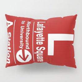 Lafayette Square Northbound Pillow Sham