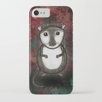 gemma correll iPhone & iPod Cases featuring Gemma the Gerbil by Studio 8107