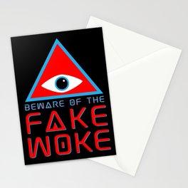 Beware of the Fake Woke Stationery Cards