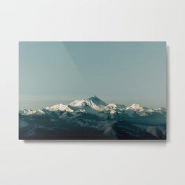 Everest Himalayas Metal Print