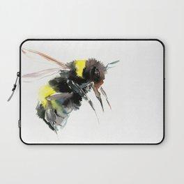 Bumblebee, bee art flying bee design honey bee wildlife Laptop Sleeve