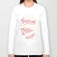 paper towns Long Sleeve T-shirts featuring Paper Towns- Treacherous by deducktion