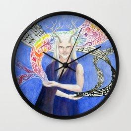 Animus Wall Clock