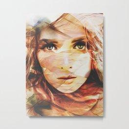 Girl Tas 06 Metal Print