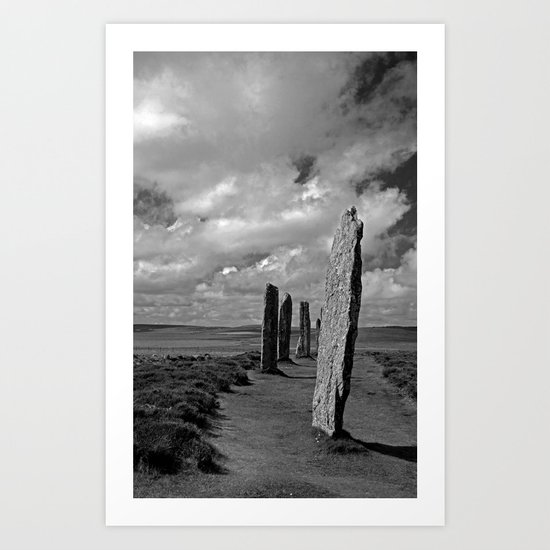 Ring of Brodgar Art Print