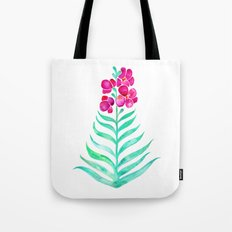 Blooming Orchid – Magenta & Mint Palette Tote Bag