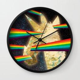 See Hear Smell Taste Rainbows Wall Clock