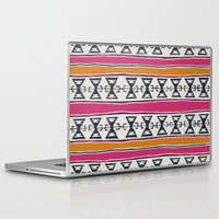 cleveland Laptop & iPad Skins featuring Cleveland 4 by Little Brave Heart Shop