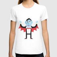 dracula T-shirts featuring Dracula by Joe Pugilist Design