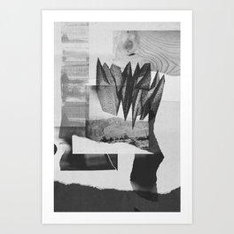 Desert Mountains 001 Art Print