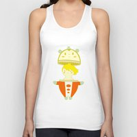 persona Tank Tops featuring Teddie - Persona 4 by Jarvis Glasses