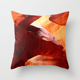 A Symphony In Sandstone Throw Pillow