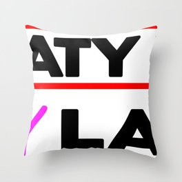 Sweaty Now Sexy Later Fitness & Bodybuilding Motivation Quote Throw Pillow
