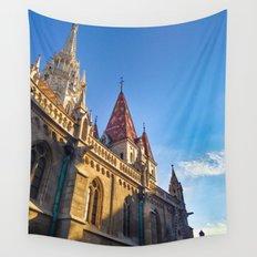 CITY PHOTOGRAPHY - BUDAPEST Matthias Church Wall Tapestry