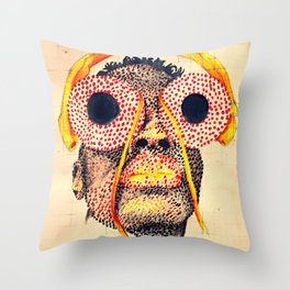 Housefly Throw Pillow