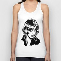 randy c Tank Tops featuring Randy Rhoads by Laura Meg